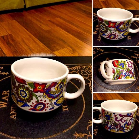 🦋2/$10 3/$15 4/$18 5/$20 Vintage 70s Soup Mug